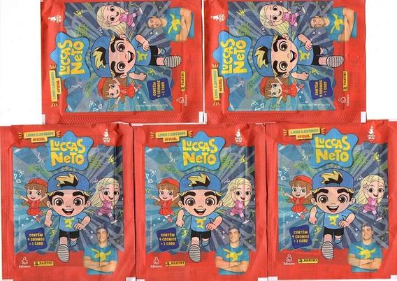 Kit 80 Figurinhas E 20 Cards Do Lucas Neto (20 Envelopes)