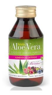 Natier Jugo De Aloe Vera Berries Fórmula Antioxidante 125ml
