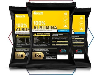 Albumina Pura Growth Supplements 1kg Original