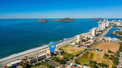 Terreno En Venta En El Malecón De Mazatlán Frente Al Mar