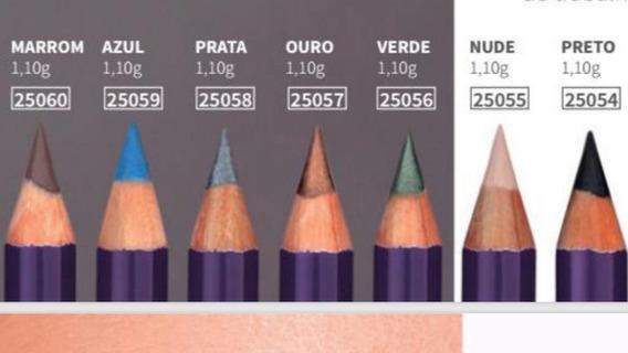 Lápis Para Os Olhos Hinode Dazzle Original Cores Metalizadas