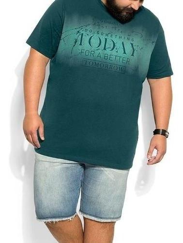 Kit 2 Camisetas Plus Size Blusa Masculina Atacado Barato