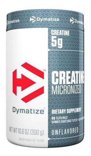 Creatina Micronizada Creatine Micronized Dymatize (300g)