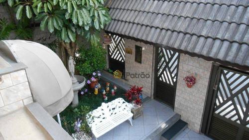 Casa Com 4 Dormitórios À Venda, 234 M² Por R$ 1.400.000,00 - Jardim São Luís - São Bernardo Do Campo/sp - Ca0530