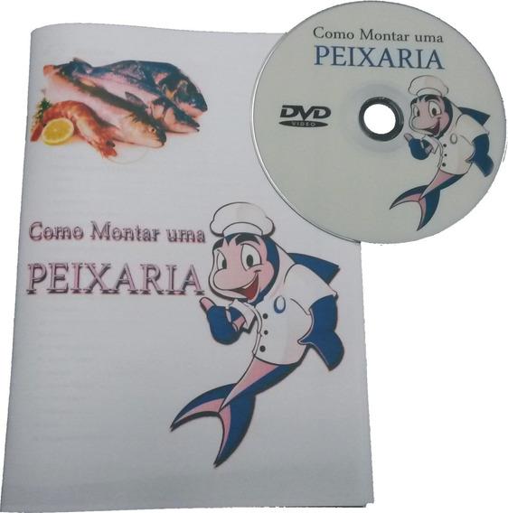 Como Montar Uma Peixaria. Dvd + Livreto