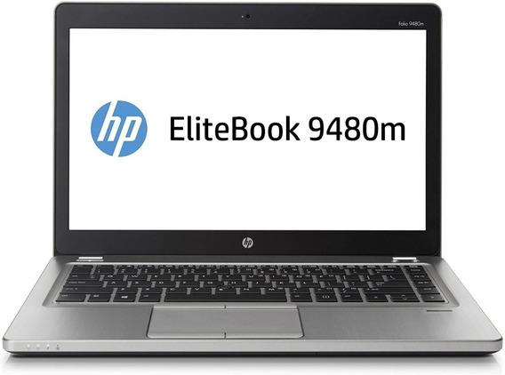 Hp Elitebook Folio 9480m 14in. I5 (4th) 8gb Ram 256 Ssd