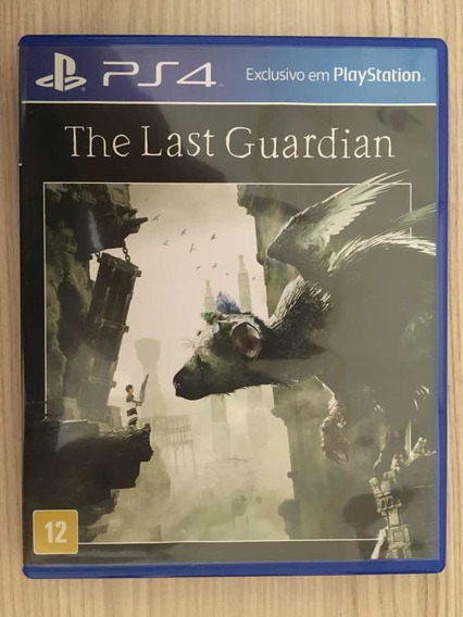 Jogo Ps4 - The Last Guardian - Original - Mídia Física