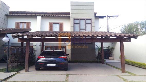 Sobrado De Condomínio Com 3 Dorms, Vila Nova Socorro, Mogi Das Cruzes - R$ 480.000,00, 128m² - Codigo: 1167 - V1167