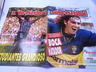 Solofutbol 509 Poster Boca Juniors Estudiantres Lp Grandioso