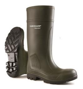 Bota Dunlop Purofort Professional No Safety Verde