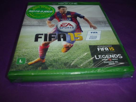 Jogo Fifa 15 Xbox One - Mídia Física Lacrado