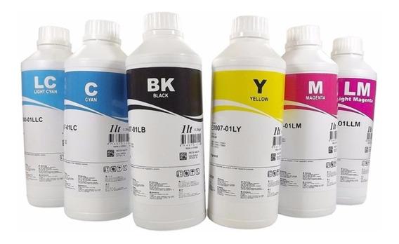 Tinta Pigmentada Inktec Para Epson 6 Litros
