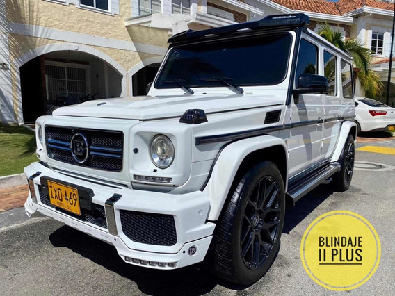 Mercedes-benz Clase G G500 Brabus V8 2016 Blindaje 2 Plus