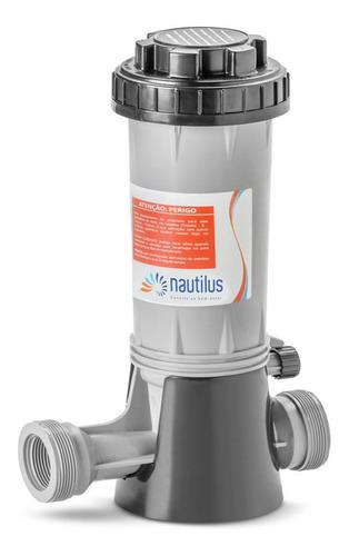 Imagem 1 de 5 de Dosador De Cloro Automático Nautilus Para Piscinas E Poços