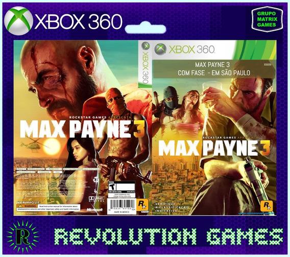 Max Payne 3 - Jogo Para Download Da Love Xbox