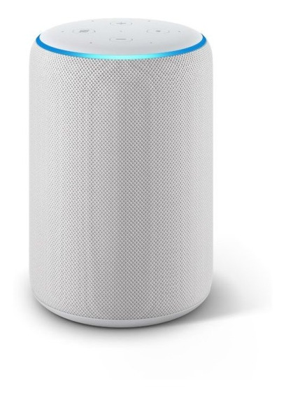 Echo Amazon Smart Speaker Alexa 3 Geracao Em Portugues Branc