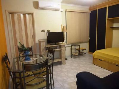 Kitnet Em Gonzaga, Santos/sp De 45m² 1 Quartos Para Locação R$ 1.600,00/mes - Kn232080