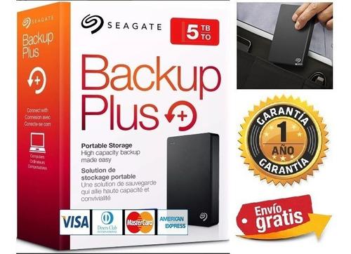 Disco Duro Externo Portable Seagate Portable 5tb Backup Plus