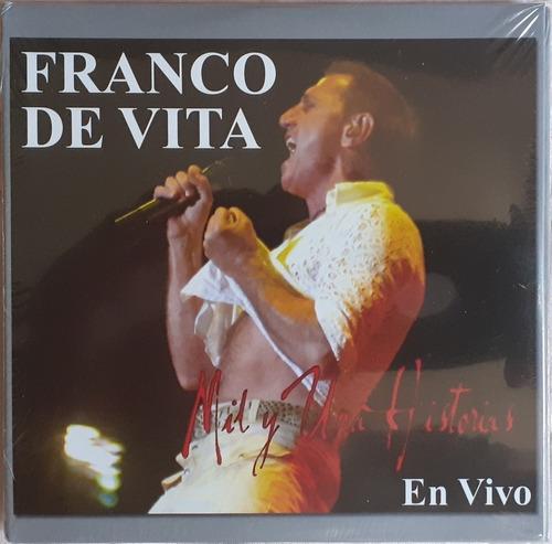 Cd Original Franco De Vita Mil Y Una Historias En Vivo Nuevo