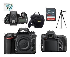 Nikon D750 Corpo Full Frame + Bolsa+tripé+64gb Classe 10