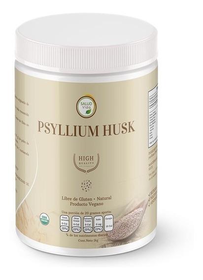 Psyllium Husk Plantago Premium 1 Kg. Envío Incluido