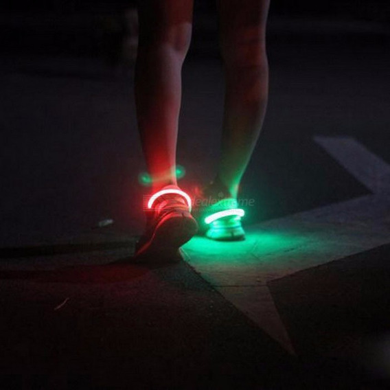 Luz Led P/ Zapatillas Unisex Niños Niñas C/ Juego De Luces