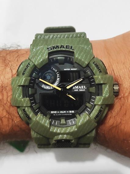 Relógio Digital Esportivo Smael S-shock 8001
