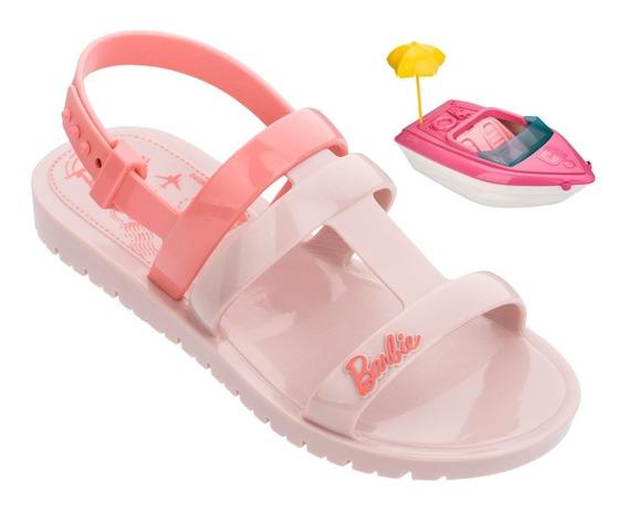 Sandalia Infantil Menina Iate Da Barbie (com Brinde) 22002
