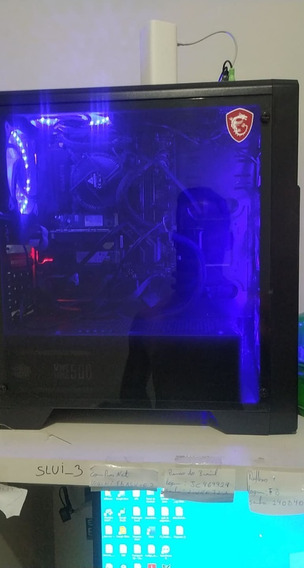 Pc Gamer I5 8600 3.10 Ghz, Cache 9mb (turbo 4.3 Ghz)