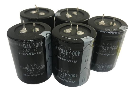 Capacitor Electrolitico 470uf X400v (35x45mm) Blindado X5