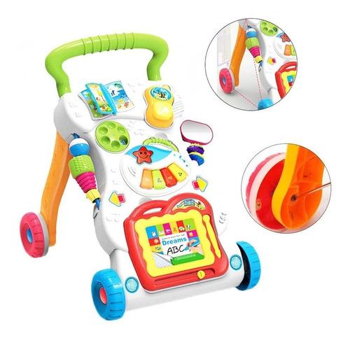 Caminador Bebe Andador Infantil Musical Caminar Niño- El Rey