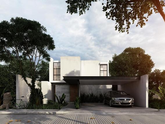 Casa Nueva En Venta En Arbórea, Modelo A, Conkal, Mérida Norte