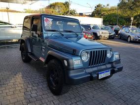 Jeep Wrangler 4.0 Sport 4x4 Teto Rigido 6i 12v Gasolina 2p