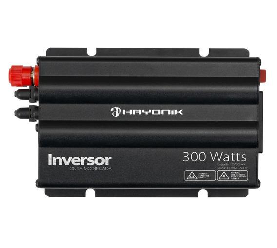 Inversor Conversor Tensao Transformador 300w 12v 127v