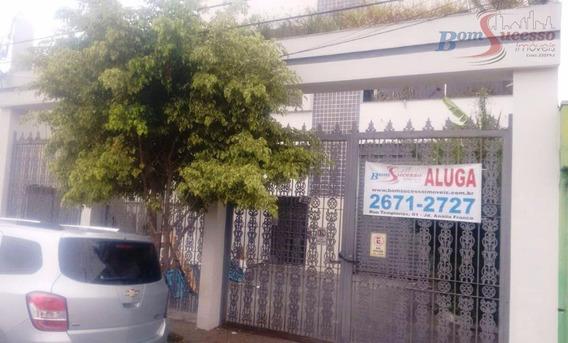 Galpão Comercial Para Locação, Jardim Independência, São Paulo. - Ga0079