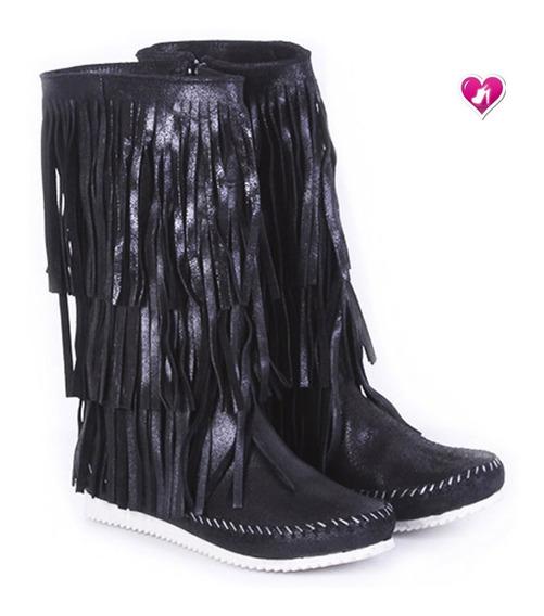 Botita Bota Cuero Invierno 19 Modelo Zumba De Shoes Bayres