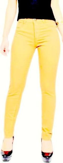 Calça Jeans Cintura Alta Hot Pant Levanta Bumbum Moda Mulher