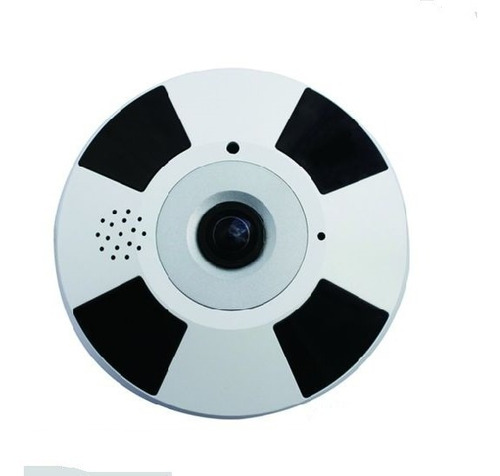 Camara Ojo De Pez Ip Wifi Inalambrica Vr 360 Full Hd 1080p