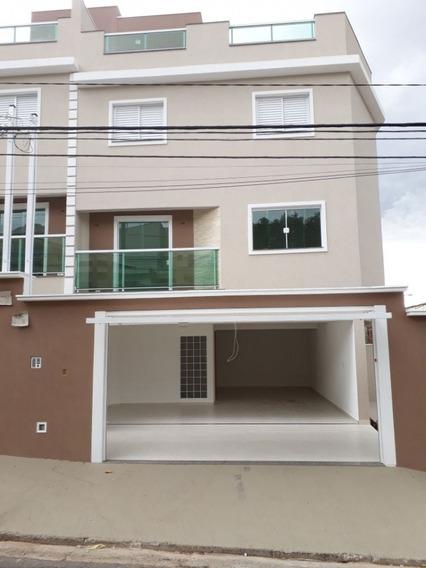 Casa Em Vila Scarpelli, Santo André/sp De 156m² 3 Quartos À Venda Por R$ 560.000,00 - Ca95883