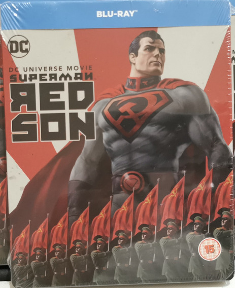 Superman Hijo Rojo Superman Red Son Steelbook Español Latino
