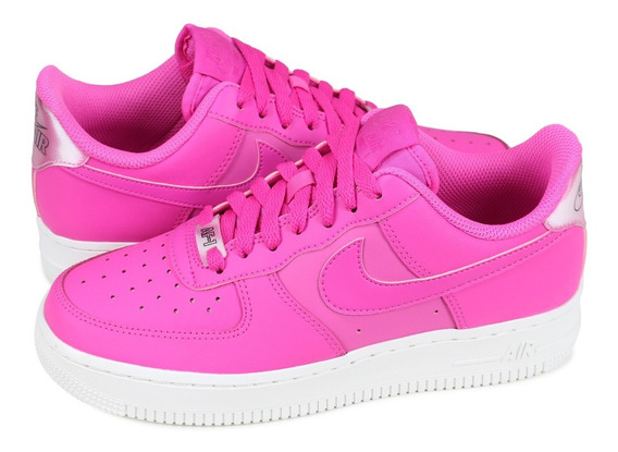 Nike Air Force 1 Low Laser Fuchsia Mujer Original Ao2132-600