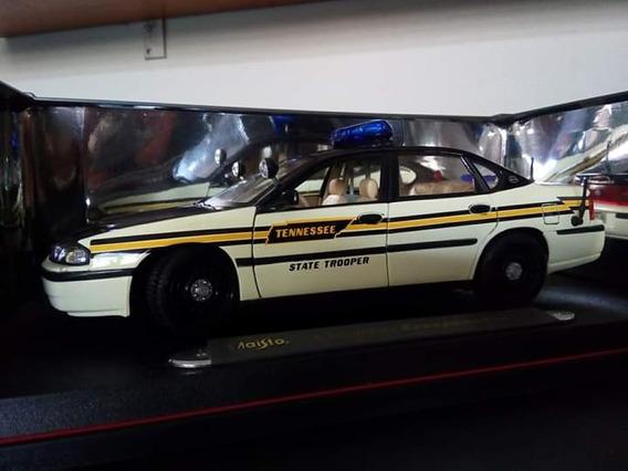 Miniatura Chevrolet Impala 1/18 Policia State Tropper