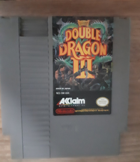 Double Dragon 3 - Nes Original