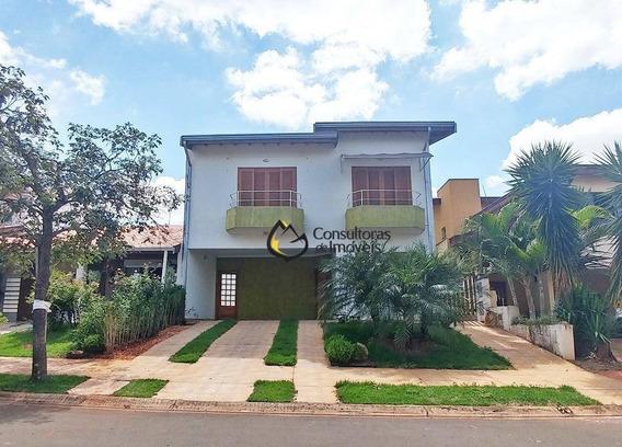 Casa Com 3 Dormitórios À Venda, 235 M² Por R$ 650.000 - Condomínio Raizes - Paulínia/sp - Ca0664