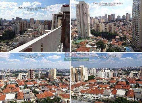 Imagem 1 de 19 de Cobertura Com 3 Dormitórios À Venda, 302 M² Por R$ 954.000 - Santana - São Paulo/sp - Co0083