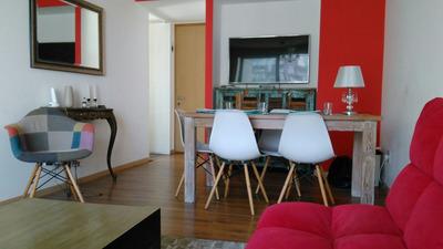 Apartamento De 2 Dormitorios - Equipado - Vista Al Mar