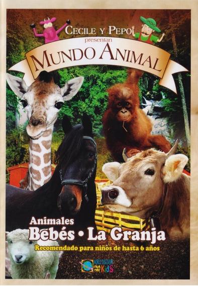 Animales Bebes Y La Granja , Mundo Animal Infantil Dvd