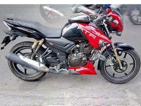 Tvs Apache 180 Rojo Como Nueva