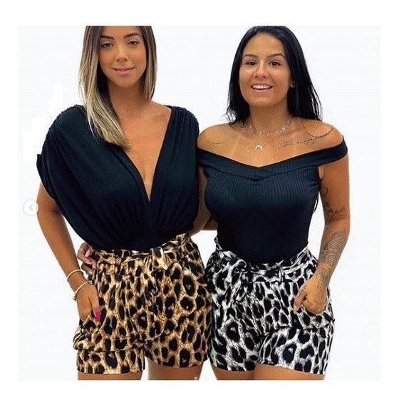 Shorts Cintura Alta Feminino Moda Baladinha Top 2019 Insta