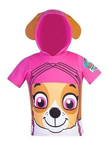 Camisa Para Niñas De Paw Patrol Talla 4t Marca Nickelodeon 1